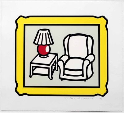 Roy Lichtenstein, 'Red Lamp', 1992