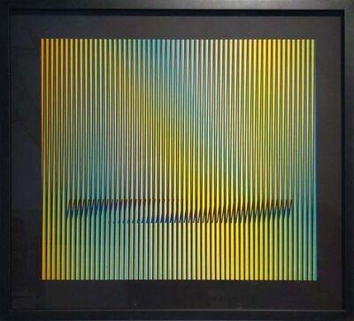 Carlos Cruz-Diez, 'Abstract Composition 1', 2015