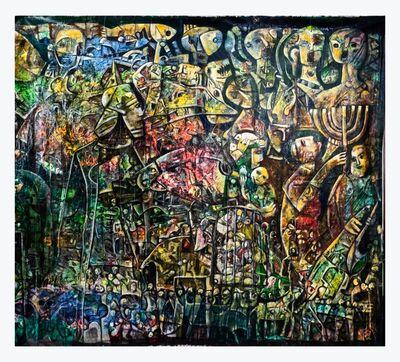 "Fahri Aldin, '""The Babylonian Exile II"" ', 2017"