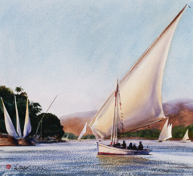 William Matthews, 'Aswan Ferry', 2008