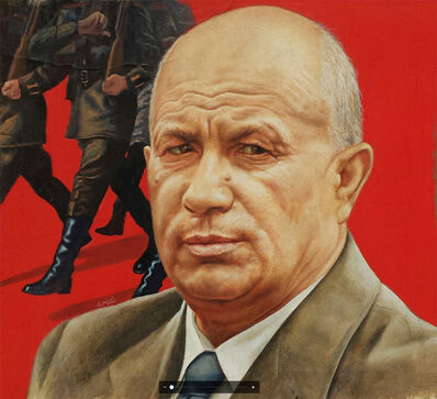 Robert Engle, 'Kruschev, March 16th 1959 - Cover of Newsweek', 1959