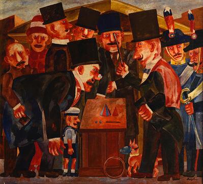 Franz Borghese, 'Personaggi', 1970-1980