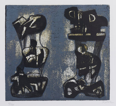 Henry Moore, 'Ideas for Metal Sculpture II', 1981