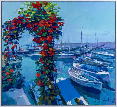 Nicola Simbari, 'Nicola Simbari Forto di Mentone Original Oil Painting Contemporary Art', 1983