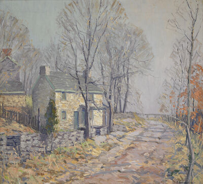 Kenneth Nunamaker, 'River Road, Autumn', ca. 1925