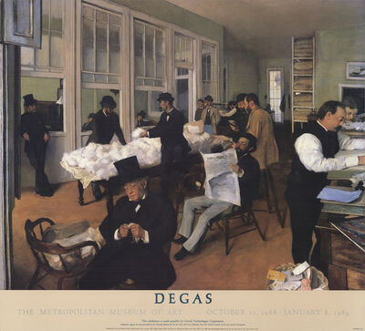 Edgar Degas, 'Portraits in an Office (New Orleans)', 1988