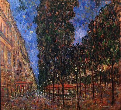 Samir Sammoun, 'Evening in Paris (Champs Elysees) ', 2015