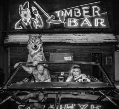 David Yarrow, 'Coyote Ugly', 2019