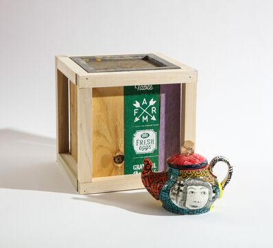 Roberto Lugo, 'Yayoi Kusama Teapot and Box Set', 2021