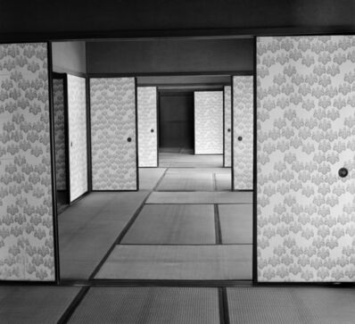 Werner Bischof, 'JAPAN. Kyoto. Katsura Palace, an old Imperial villa.', 1951