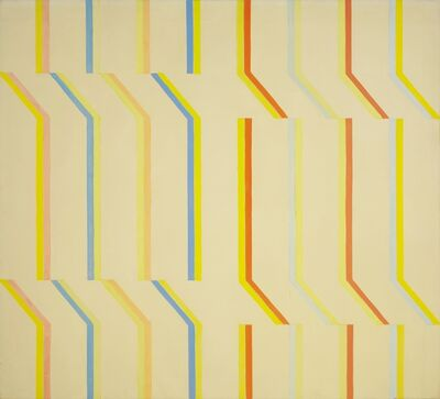 Michael Loew, 'Yellow Aura, White Series #4', 1973