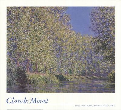 Claude Monet, 'Bend in the Epte River, Near Giverny', 1992