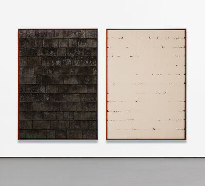 Davide Balula, 'Burnt Painting, Imprint of the Burnt Painting (Shims)', 2012