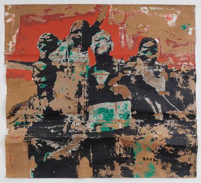 Armand Boua, 'C'est djinzin dans la foule 1', 2018