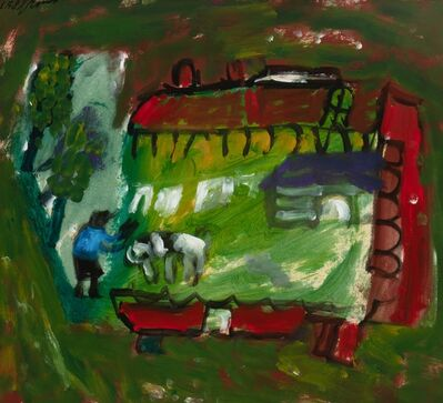 Eugène Brands, 'De boerderij (The farm)', 1958