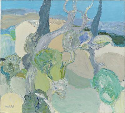 Roger Muhl, 'L'Arbre Gris', 1970