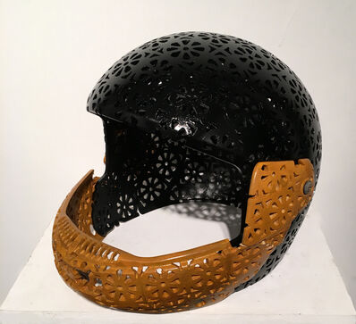 Debanjan Roy, 'Helmet (Black)', 2016