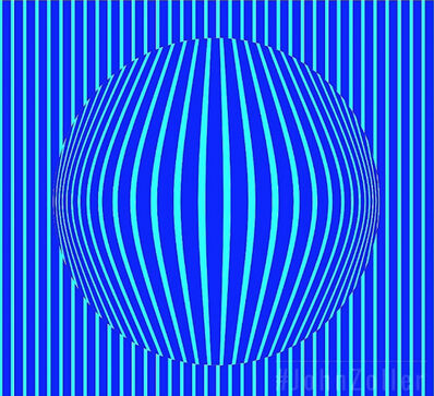 John Zoller, 'John Zoller, Cryogenic Neon Blue mirror', 2018
