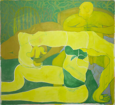 Tahnee Lonsdale, 'Posing Yellow Figure', 2018