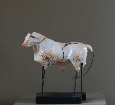 Carl Dahl, 'White Bull', 2020