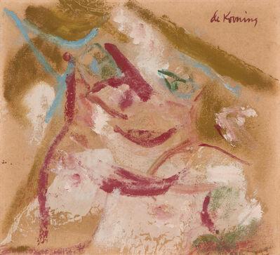 Willem de Kooning, 'Pink Woman', 1964