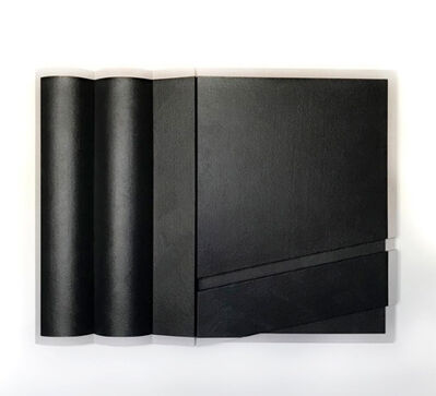 Robert William Moreland, 'Untitled Double Curve Black Rectangle', 2018