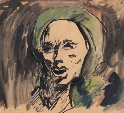 Sven X-et Erixson, 'Woman in Kerchief', 1932