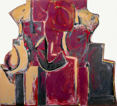 Ruth Mordecai, 'Between Painting and Sculpture (Torsos)', 2018