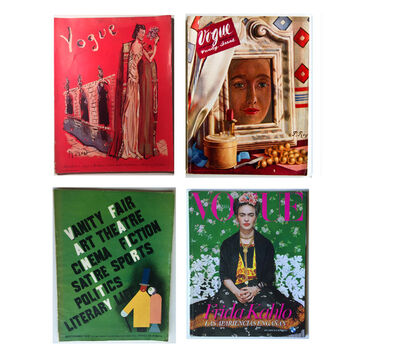 Frida Kahlo, '(4) Magazines- 1931 Vanity Fair, 1936 Vogue, 1937 Vogue, 2012 Mexican Vogue', 1931-1938