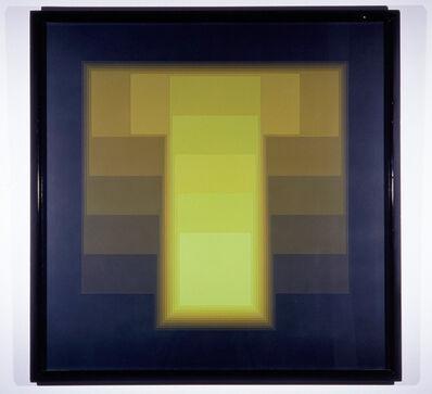 Karl Gerstner, 'color sound 48 introversion', 1972-1986