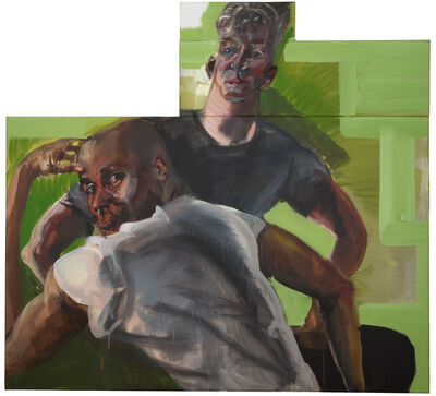 Rainer Fetting, 'Desmond and Jeff', 2018