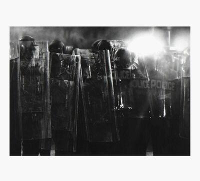 Robert Longo, 'Untitled (Riot Cops) ', 2017