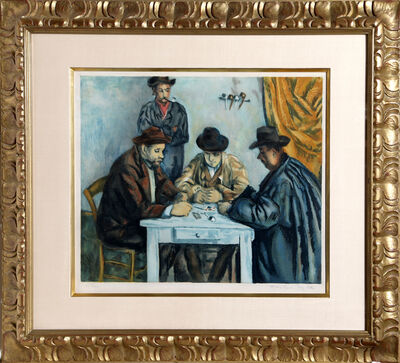 Jacques Villon, 'Les Joueurs des Cartes (The Card Players)', 1929