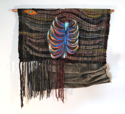 Juliet Martin, 'Textile Handwoven Wall Hanging: 'Rib from My Side (Large)', 2019