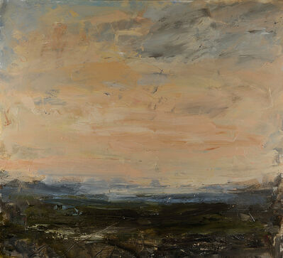 Louise Balaam, 'Quiet pink evening, Ashdown Forest', 2019