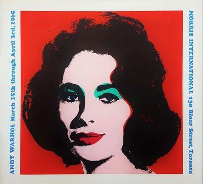 Andy Warhol, 'Morris International (Liz Taylor)', 1965