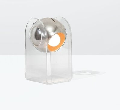 Gino Sarfatti, 'a 549/G table lamp in lacquered aluminum, plexiglass and methacrylate', 1968