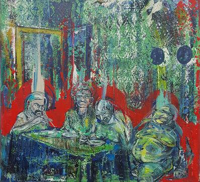 Undine Bandelin, 'Das Gastmahl (the banquet)', 2020