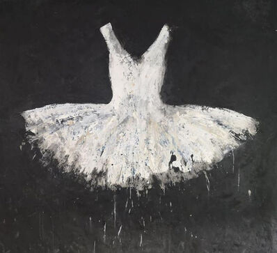 Ewa Bathelier, 'White Dress', 2018