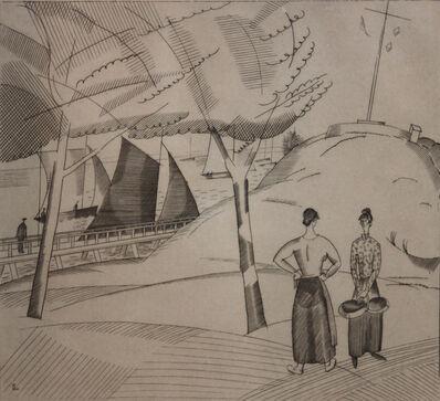 Jean-Emile Laboureur, 'Le Sémaphore (Le Croisic)', 1923