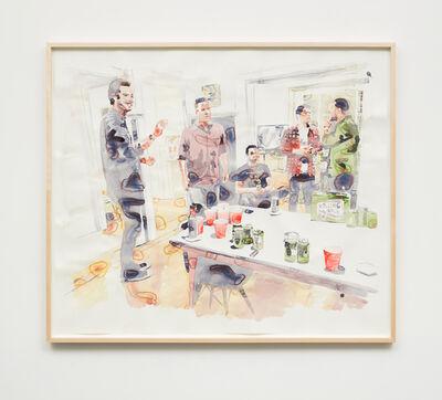Joey Wolf, 'Beer Pong', 2017