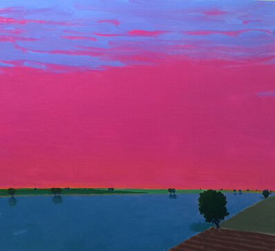 John Karl Claes, 'Pink Evening'