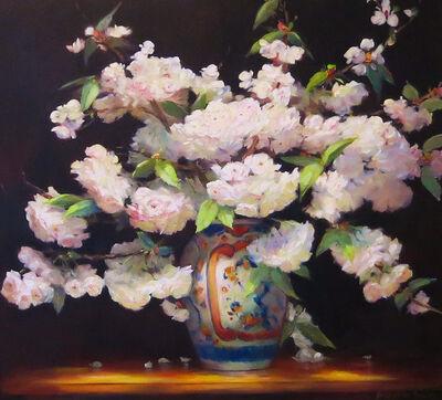 Jacqueline Fowler, 'Fuji Cherry in Imari Vase'