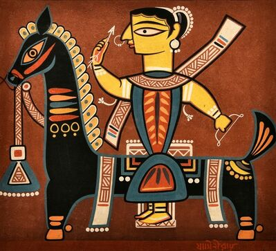 Jamini Roy, 'Untitled', ca. 1940
