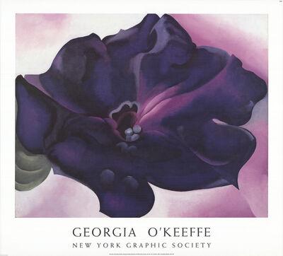 Georgia O'Keeffe, 'Petunia', 1991