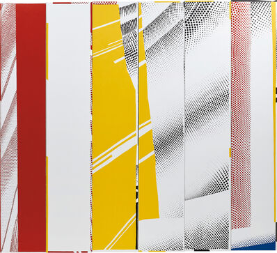 "Jonathan Horowitz, 'Group Self-portrait in ""Mirror #3 (Six Panels)"" (Mary, Mike, Gil, Jan, Ryan, Emet)', 2014"