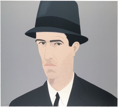 Alex Katz, 'Self-Portrait (Passing)', 1990