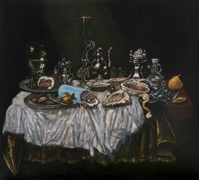 Jan van Imschoot, 'La feuille verte', 2019