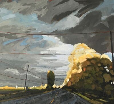 Stewart Jones, 'The Golden Hour_HWY 33', 2019