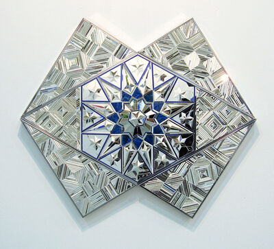 Monir Farmanfarmaian, 'Untitled (blue)', 2010